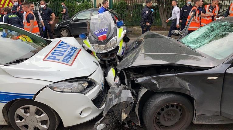 Un policier est dans un état grave après avoir été percuté par une voiture.