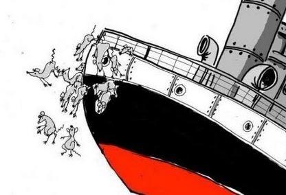 Le bateau LREM coule, les rats quittent lenavire