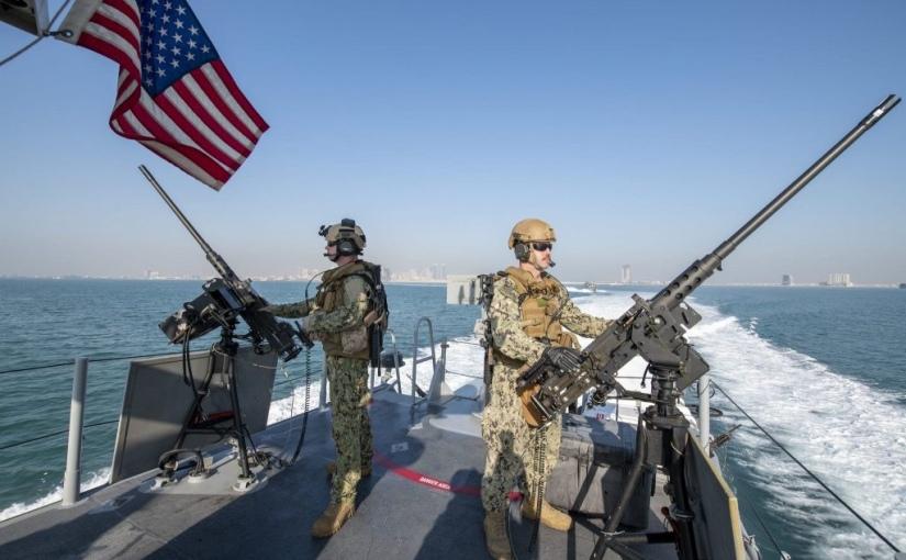 L'US Army menace la marine iranienne, les unités armées affûtent leursarmes