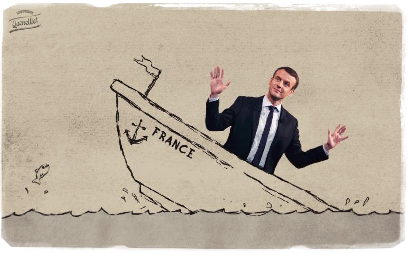 En trois ans, Macron a réussi à couler la France!