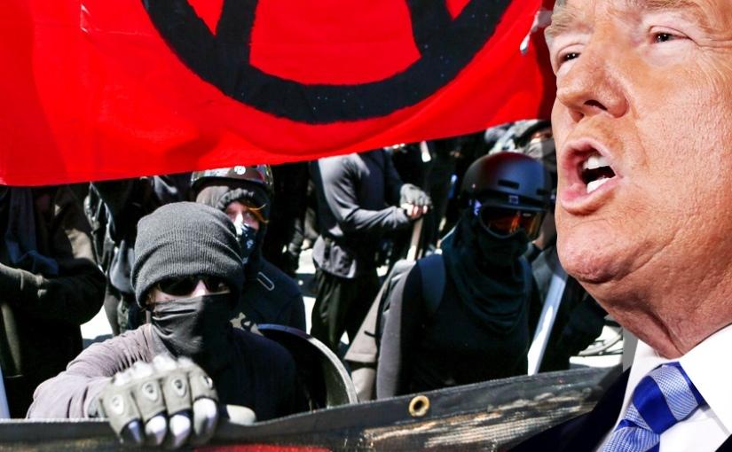 Trump annonce que le groupe « Antifa », va être classé comme « organisation terroriste»