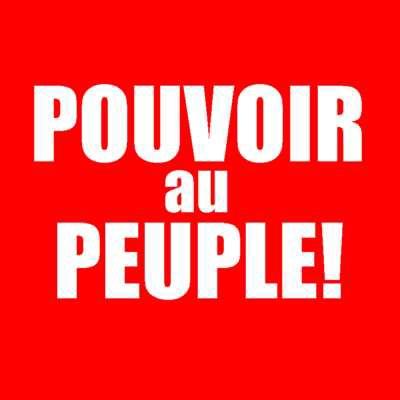 La toute puissance des peuples!