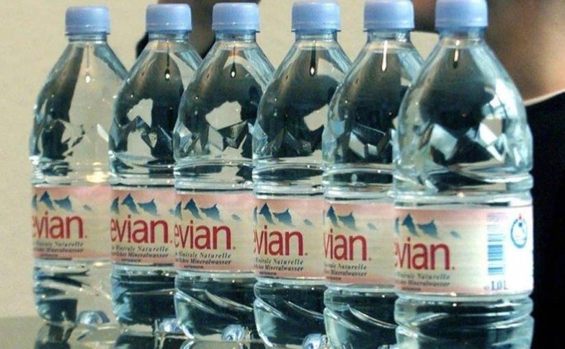 L'eau d'Evian contient des résidus de chlorothalonil (pesticidesinterdits)