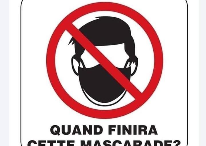 Les anti-masque de plus en plus nombreux : « L'État pourrait très bien entamer des poursuites à leur encontre»