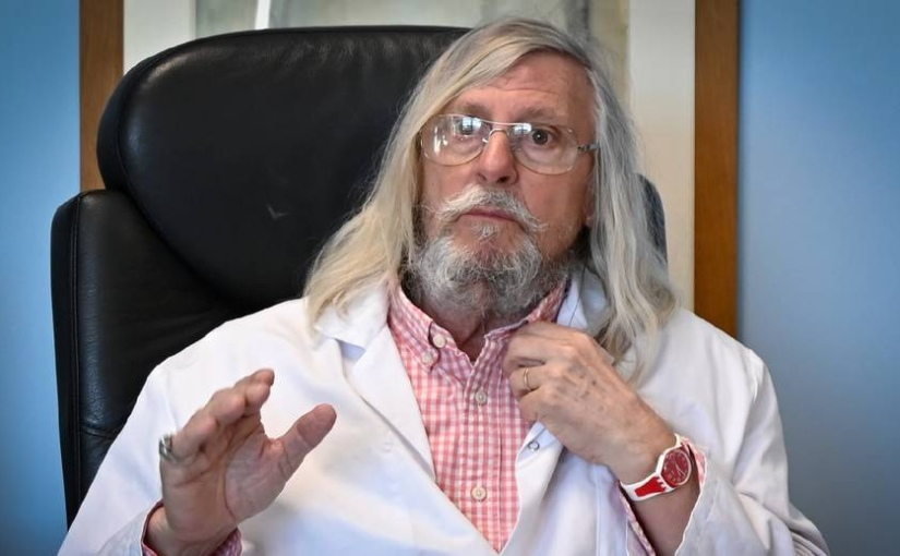 Les formes de cas de covid 19 sont davantage « bénignes », et le port du masque est « inefficace » dit le Pr.Raoult